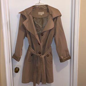 Michael Kors khaki trench coat